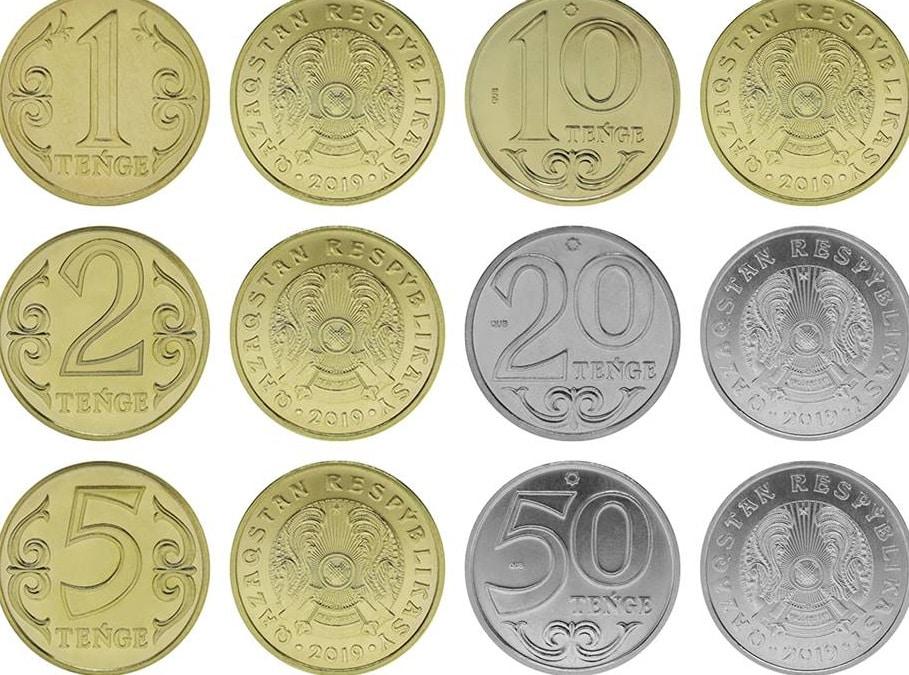 Монета теңге жазу