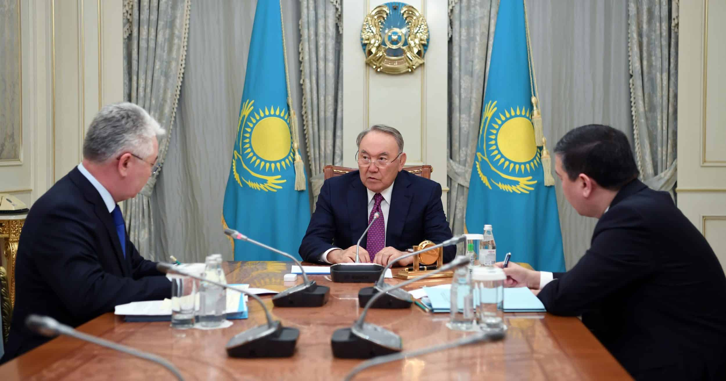 Нұрсұлтан Назарбаев Бейбіт Атамқұловты қабылдады
