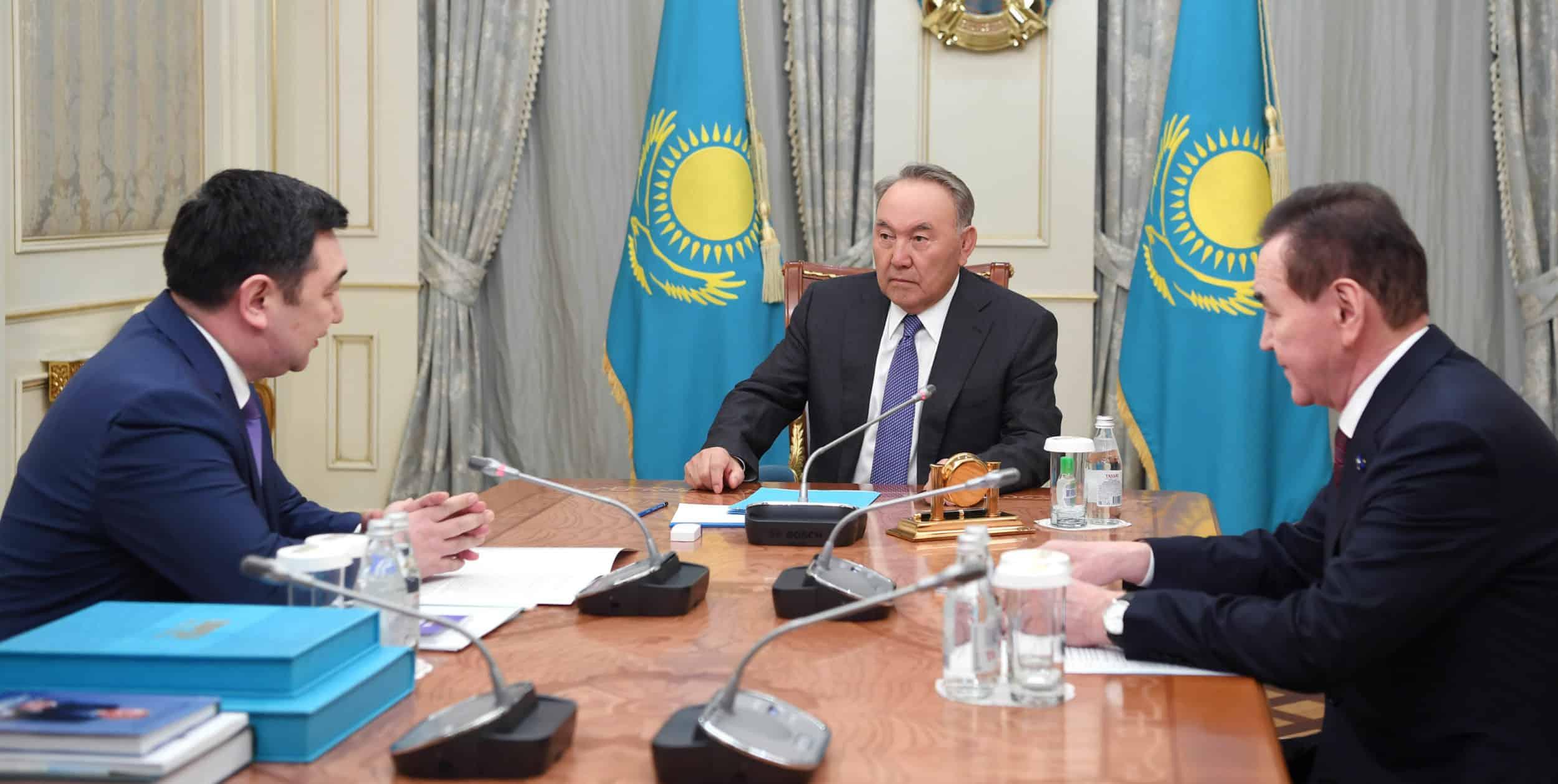 Нұрсұлтан Назарбаев пен Дархан Қыдырәлі