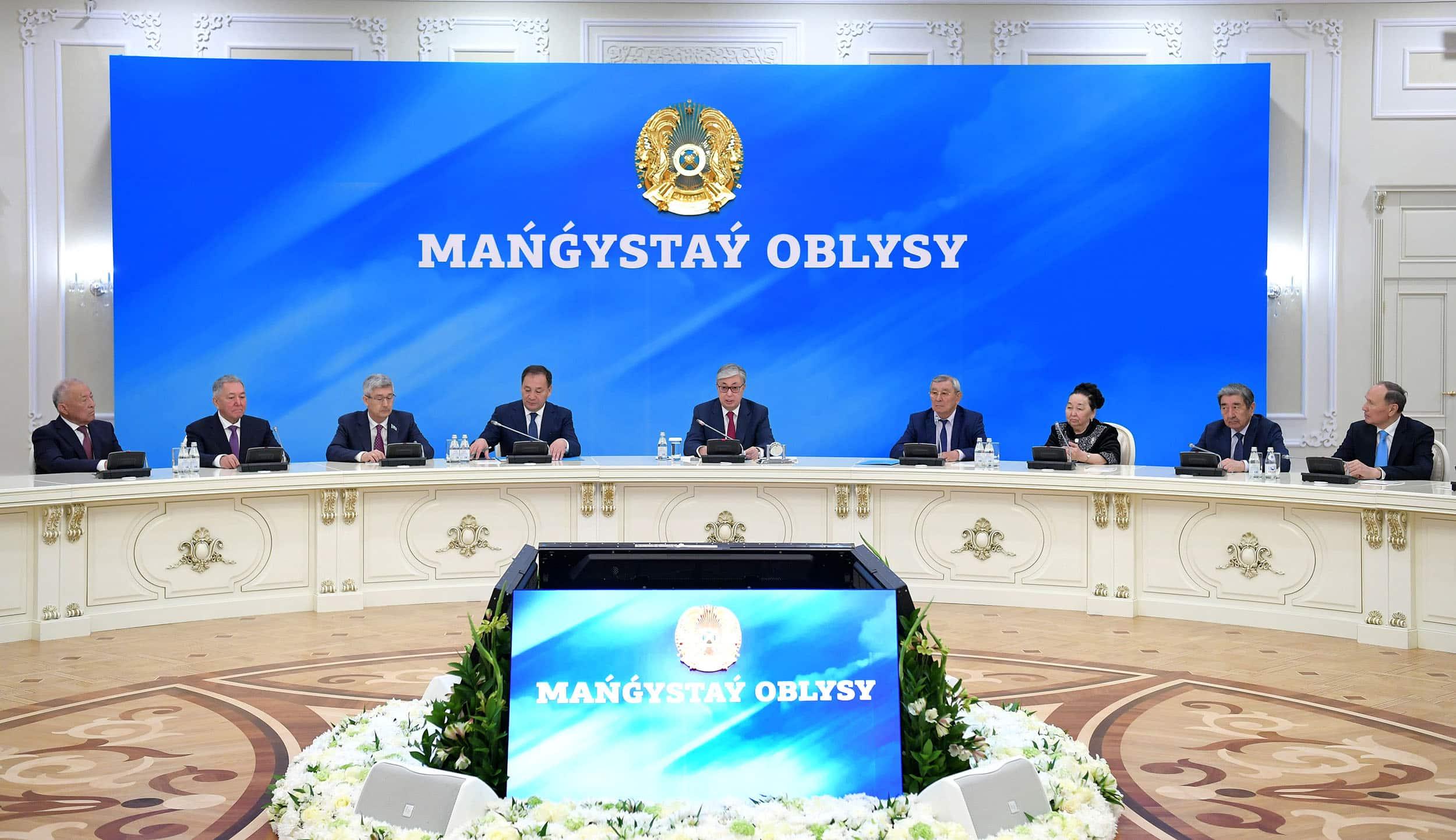 Қасым-Жомарт Тоқаев Маңғыстау жұртшылығымен кездесті