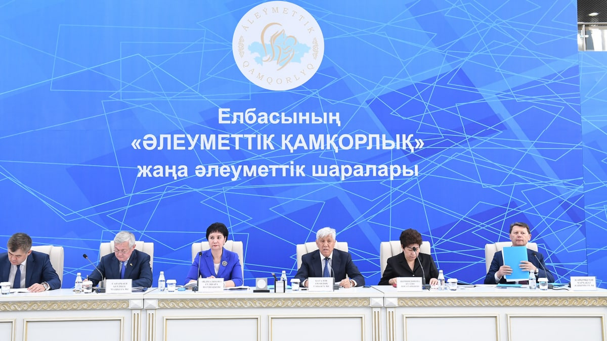 Үкімет тобы Алматы облысында Гүлшара Әбдіқалықова