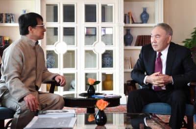 Нұрсұлтан Назарбаев Джеки Чанмен кездесті
