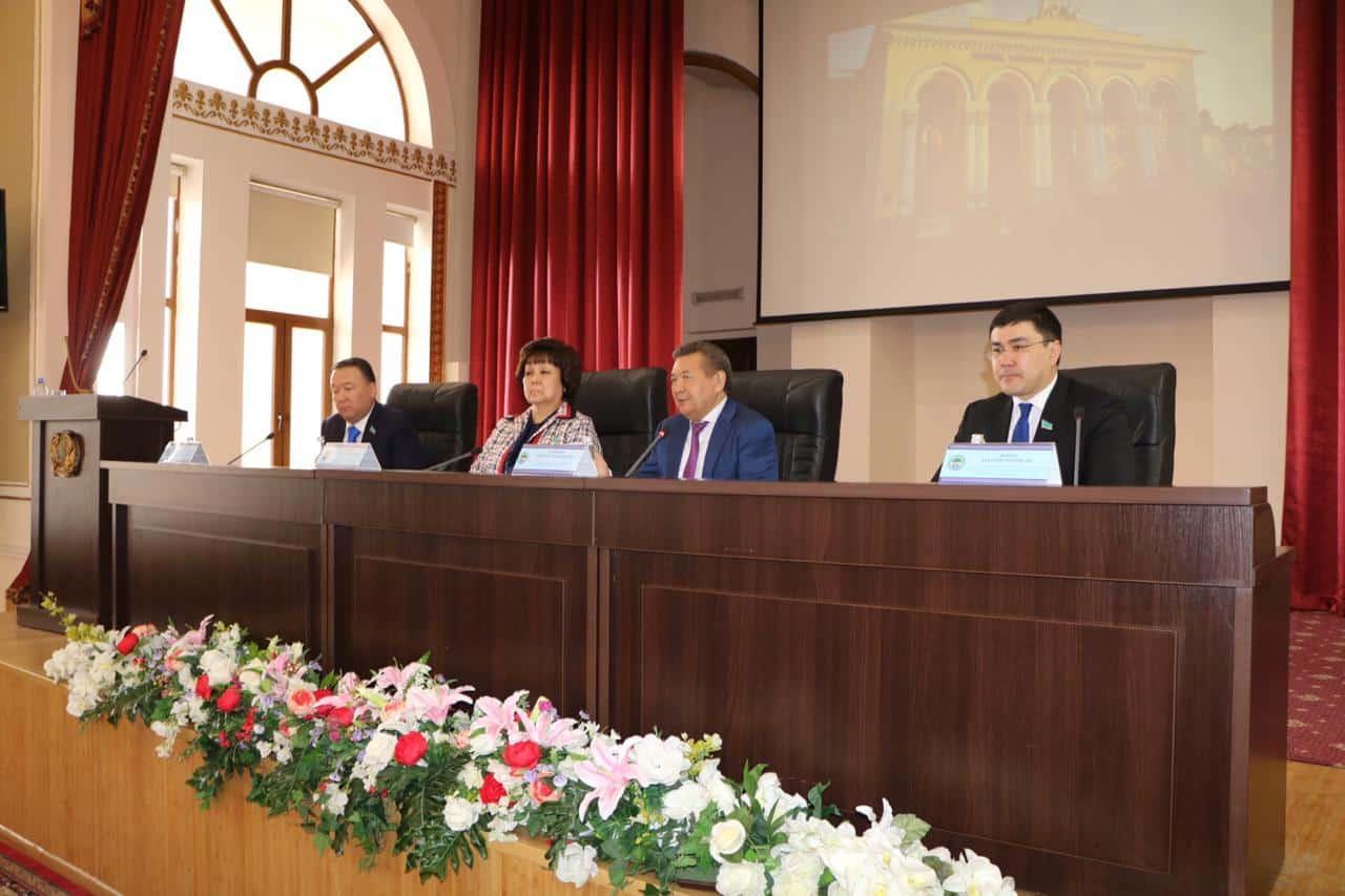 Депутаттар Қазақ ұлттық аграрлық университетінде