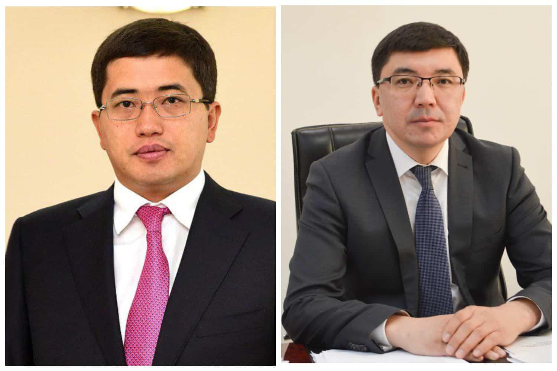 Ержан Жылқыбаев пен Ақмәди Сарбасов