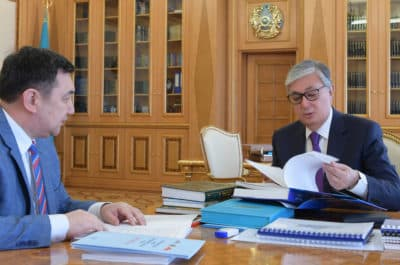 Президент Дархан Қыдырәлімен кездесті