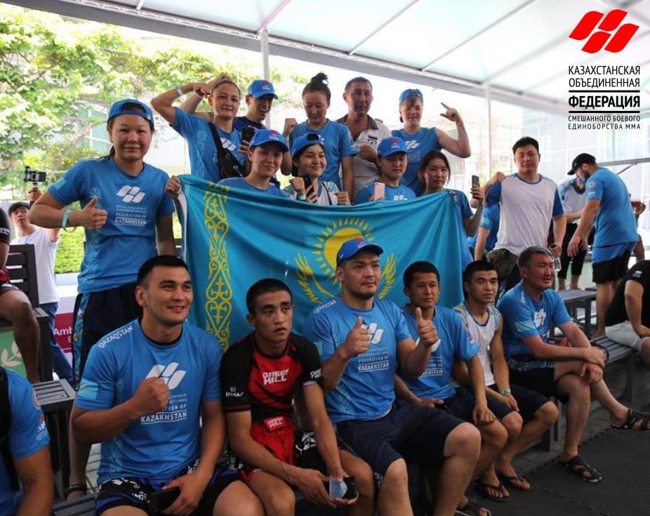Аралас жекпе-жек ММА-ден Қазақстанның біріккен федерациясы