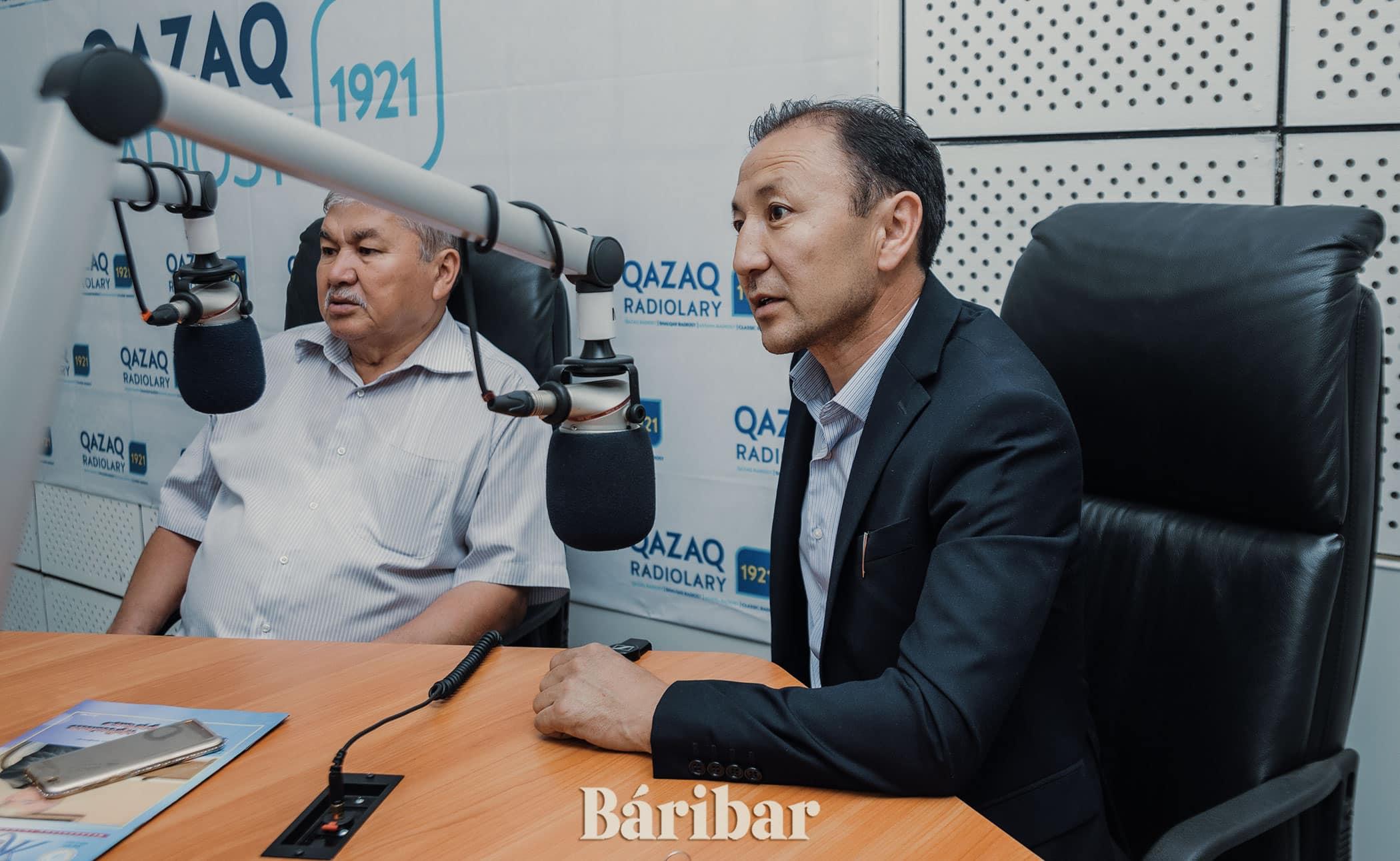 Аманжан Еңсебаев пен Бақыт Жағыпарұлы