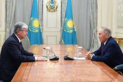 Нұрсұлтан Назарбаев Қасым-Жомарт Тоқаевпен кездесті