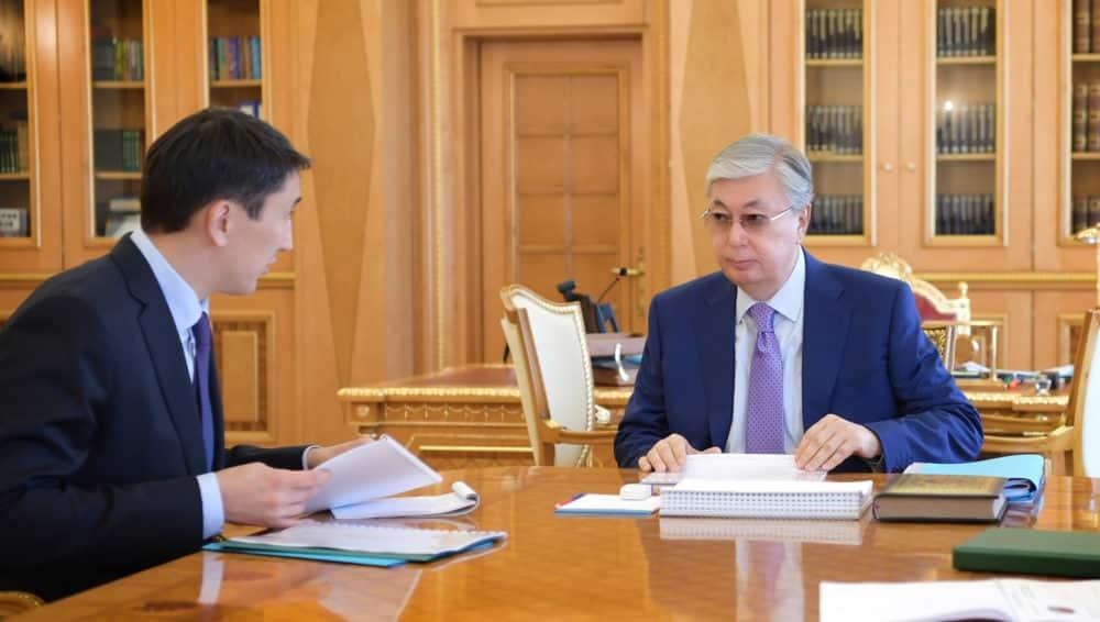 Мағзұм Мырзағалиев Президенттің қабылдауында болды