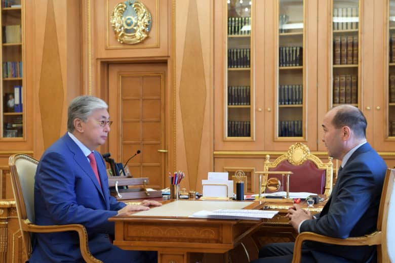 Президент Бас прокурорды қабылдады