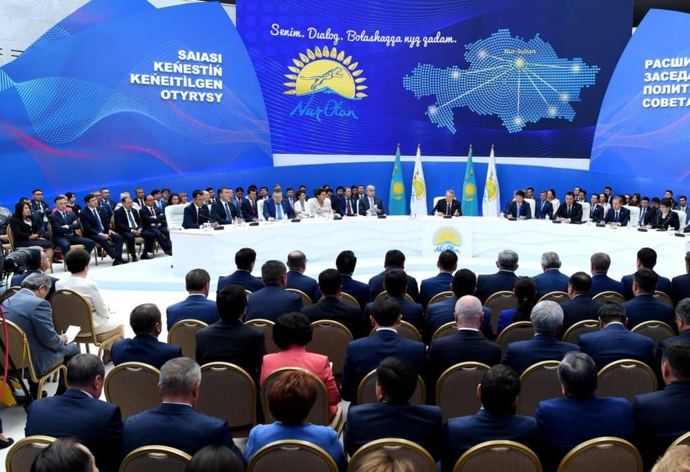 Nur Otan партиясы саяси кеңесінің отырысы