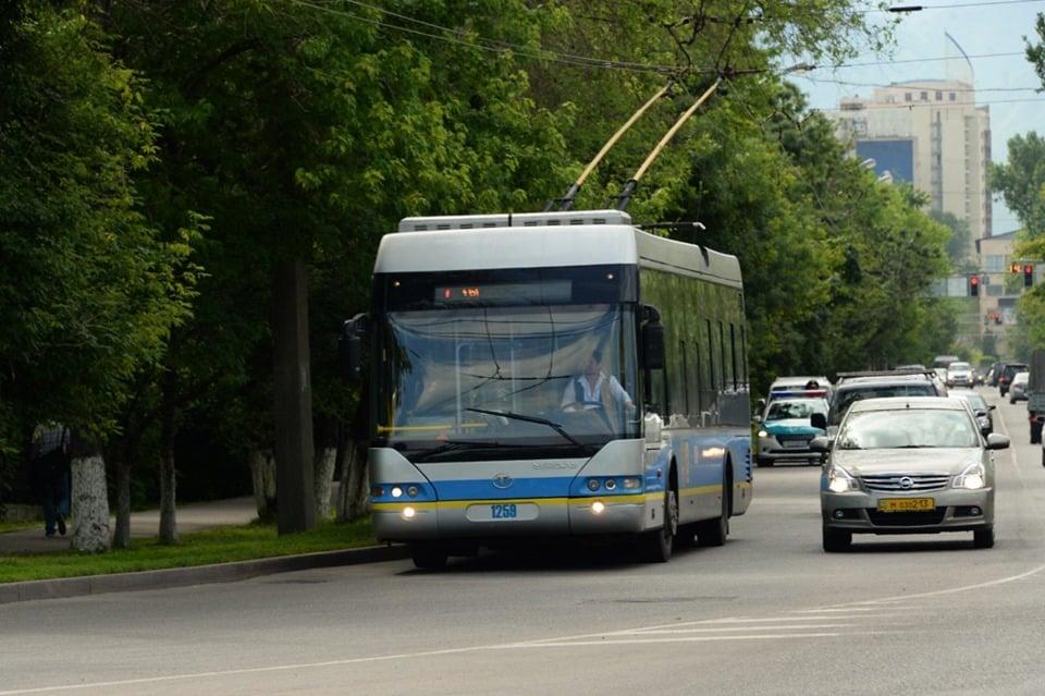 Алматы троллейбустары