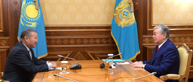 Қасым-Жомарт Тоқаев Зейнолла Самашевпен кездесті