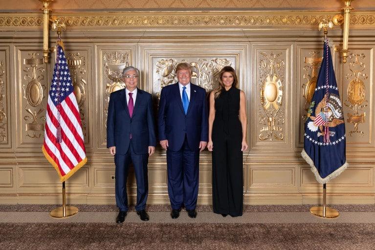 Қасым-Жомарт Тоқаев, Дональд Трамп