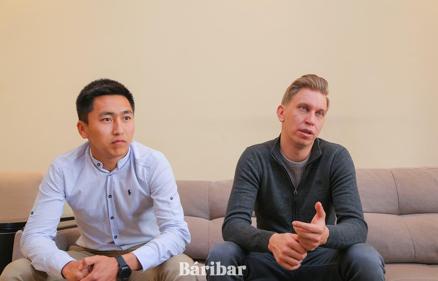 Сергей Ахметов және Ерғали Алдекенов