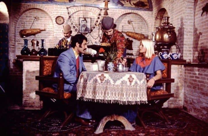 Тегеран кафесінде