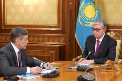 Тоқаев пен Ермекбаев