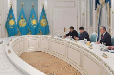 Қасым-Жомарт Тоқаев CNPC басшылығымен кездесті