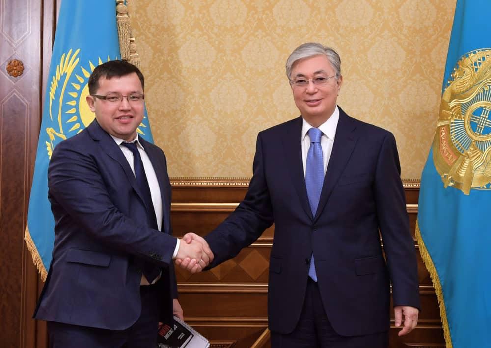 Олжас Құдайбергенов Президентпен кездесті