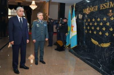 Қасым-Жомарт Тоқаев пен Нұрлан Ермекбаев