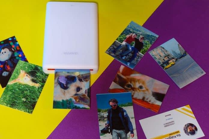 Huawei, фотопринтер