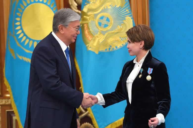 Қасым-Жомарт Тоқаев пен Роза Рымбаева