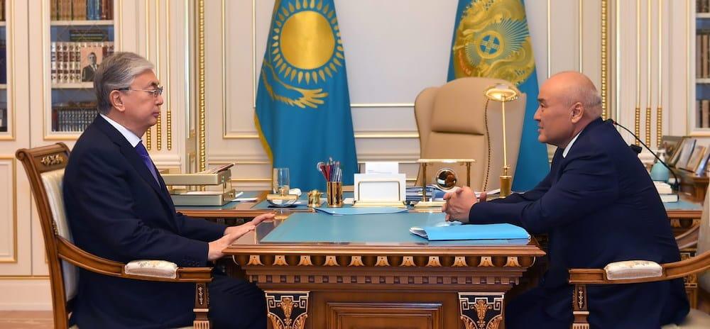 Қасым-Жомарт Тоқаев пен Өмірзақ Шөкеев