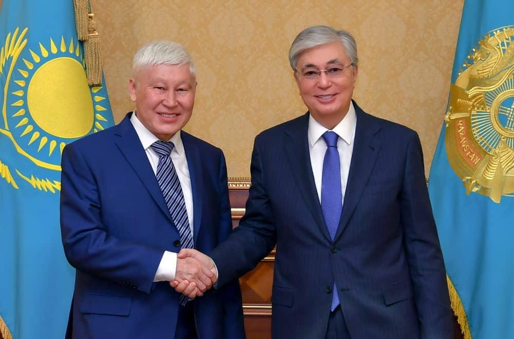 Қасым-Жомарт Тоқаев пен Асқар Жұмаділдаев