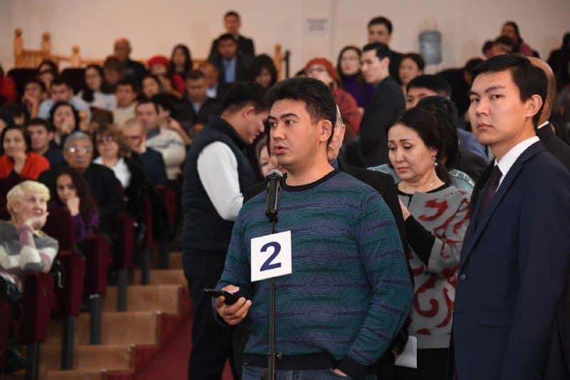 Бақытжан Сағынтаев, Алмалы ауданы