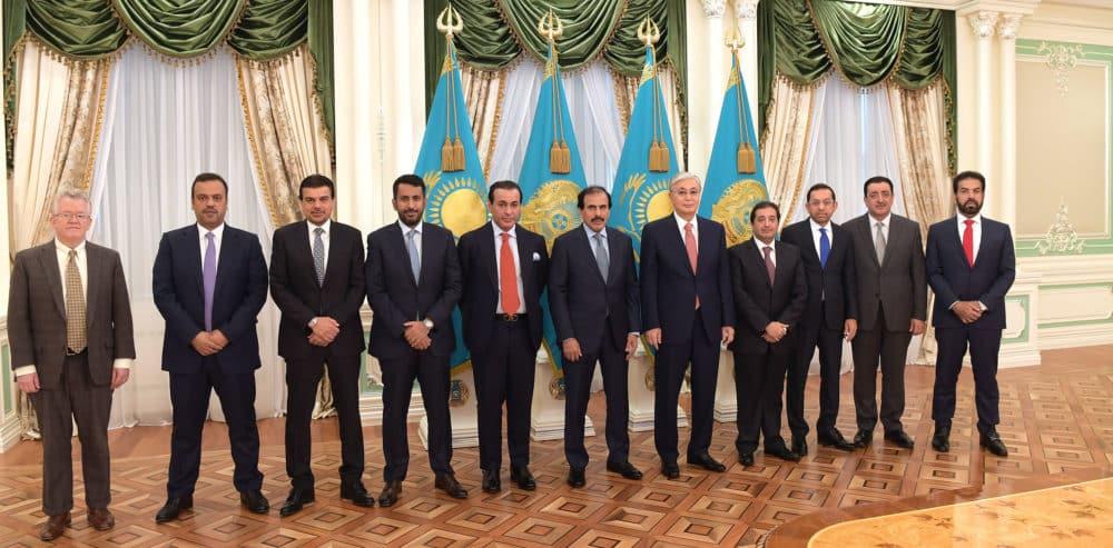 Катар делегациясы