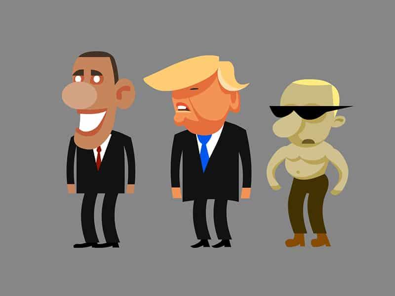 Обама, Трамп