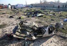 Тегеранда құлаған ұшақ