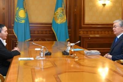 Қасым-Жомарт Тоқаев пен Роза Мұқанова