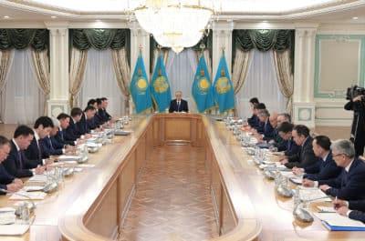 Қасым-Жомарт Тоқаев әкімдермен кездесті