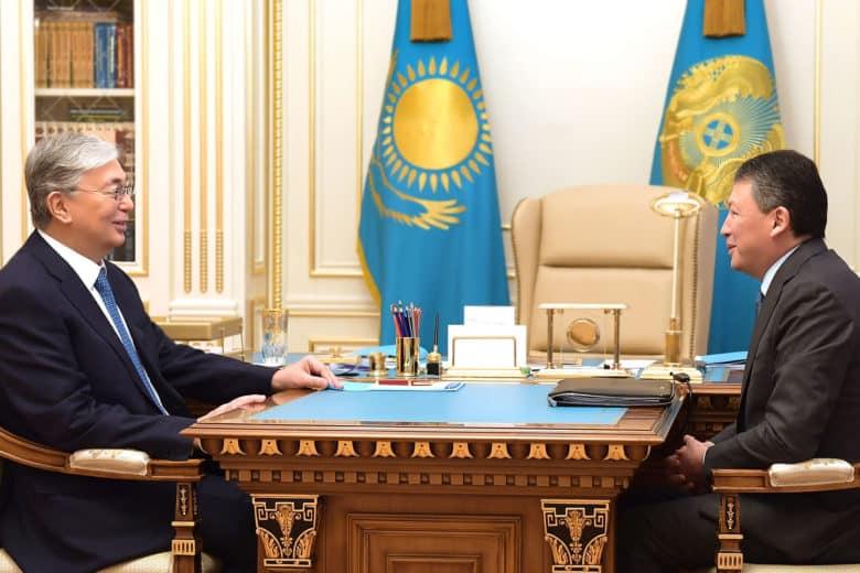 Қасым-Жомарт Тоқаев пен Тимур Құлыбаев