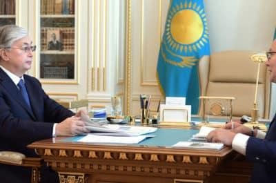 Қасым-Жомарт Тоқаев пен Қуанышбек Есекеев