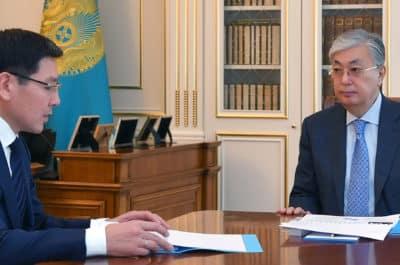 Қасым-Жомарт Тоқаев Асқар Жұмағалиевті қабылдады