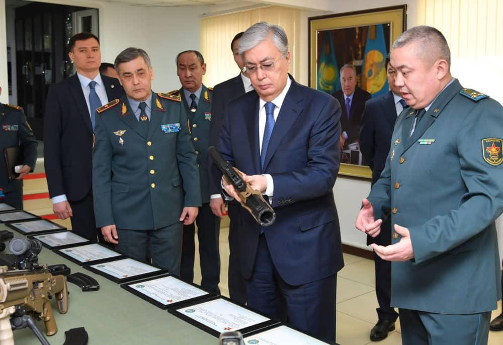 Қасым-Жомарт Тоқаев ҚК Бас барлау басқармасында