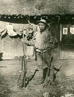 Дерсу Узала. В.Арсеньевтің фотосы