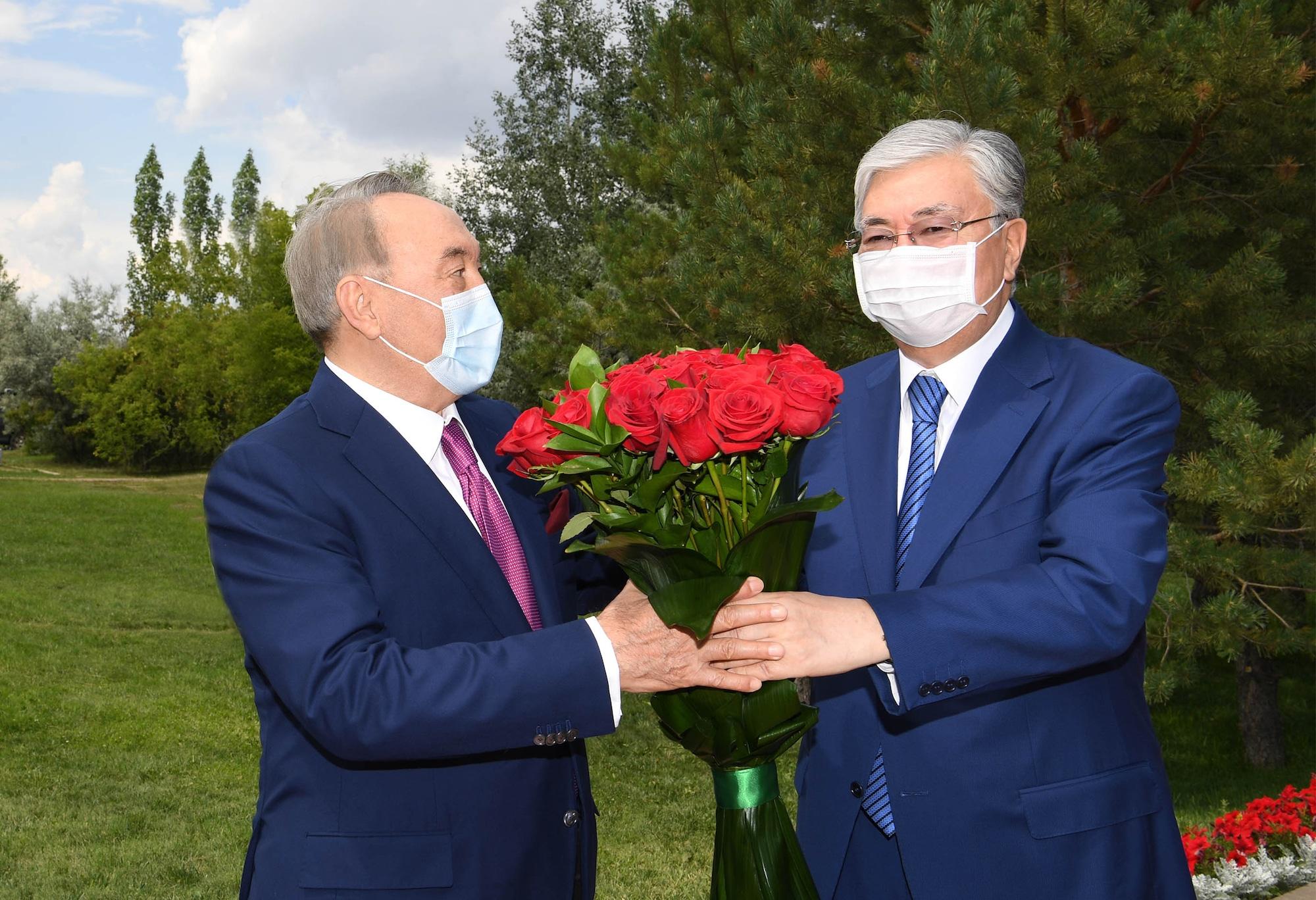 Қасым-Жомарт Тоқаев, Нұрсұлтан Назарбаев