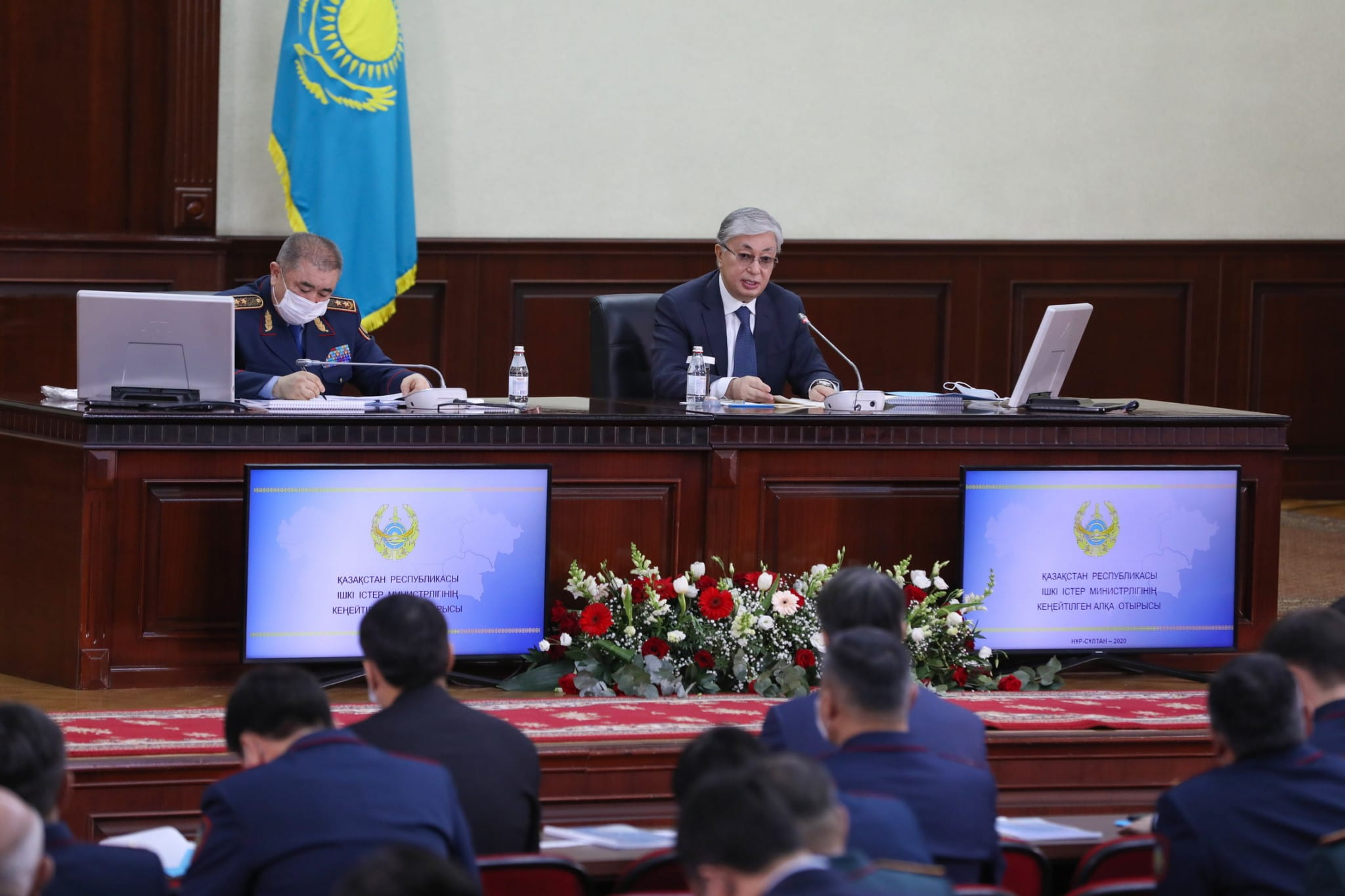 Қасым-Жомарт Тоқаев және Ерлан Тұрғымбаев