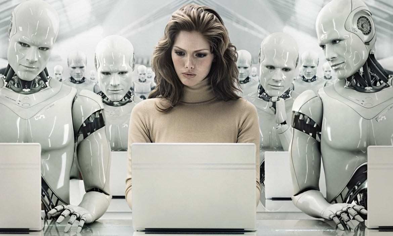 технология, робот, жасанды интеллект