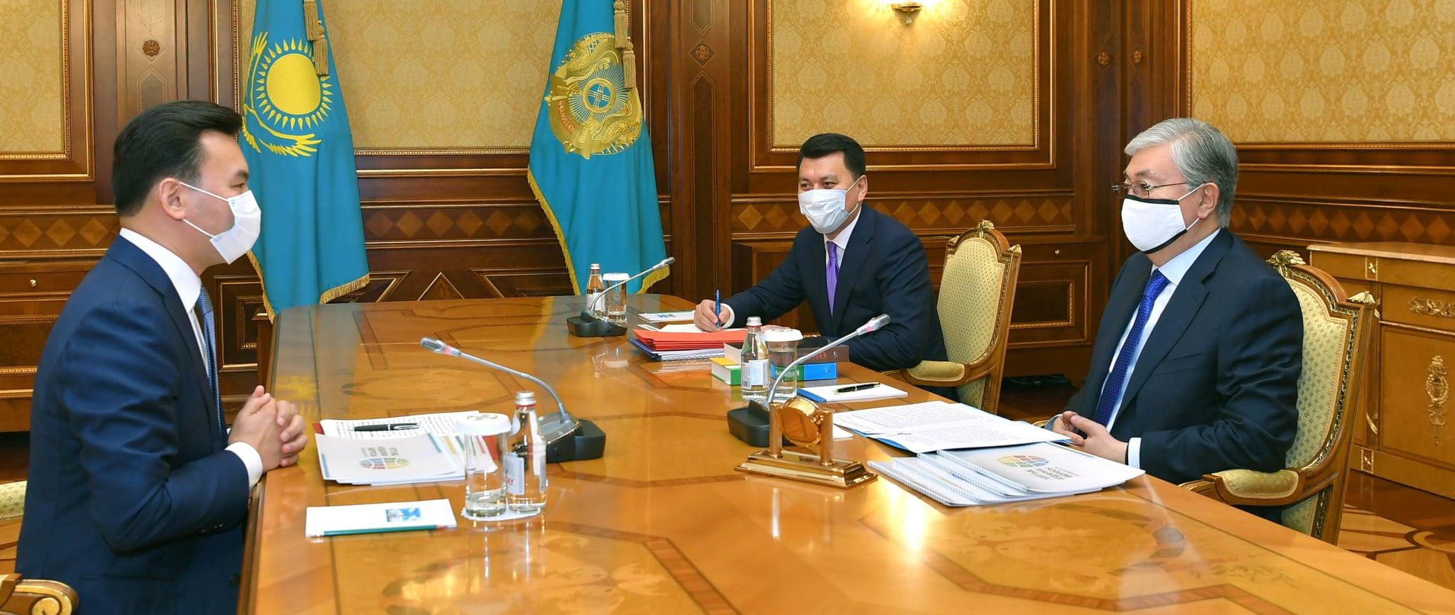Қасым-Жомарт Тоқаев және Рауан Кенжеханұлы