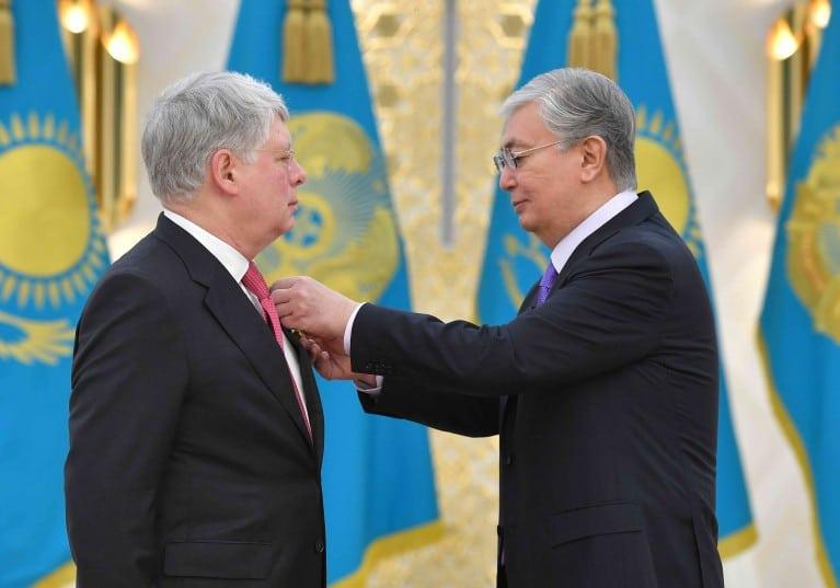 Қасым-Жомарт Тоқаев және Алексей Бородавкин