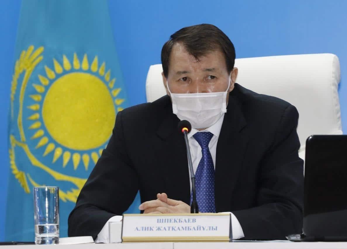 Алик Шпекбаев, Алматы облысы