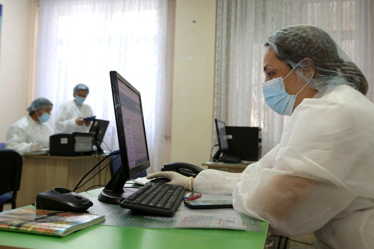 Дәрігер, Алматы, коронавирус