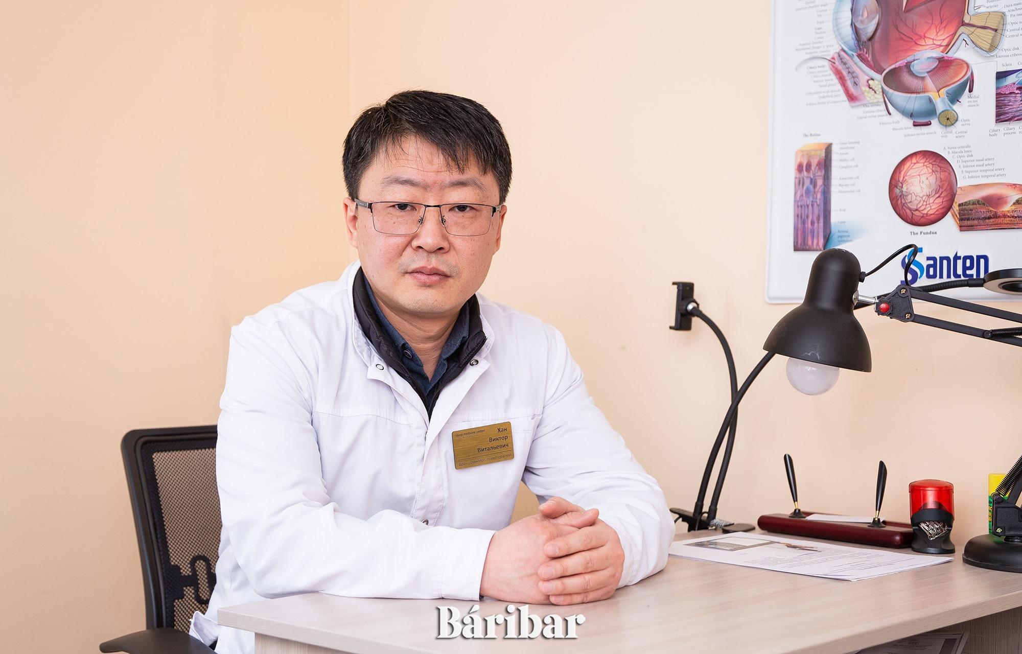 Сомнолог Виктор Хан