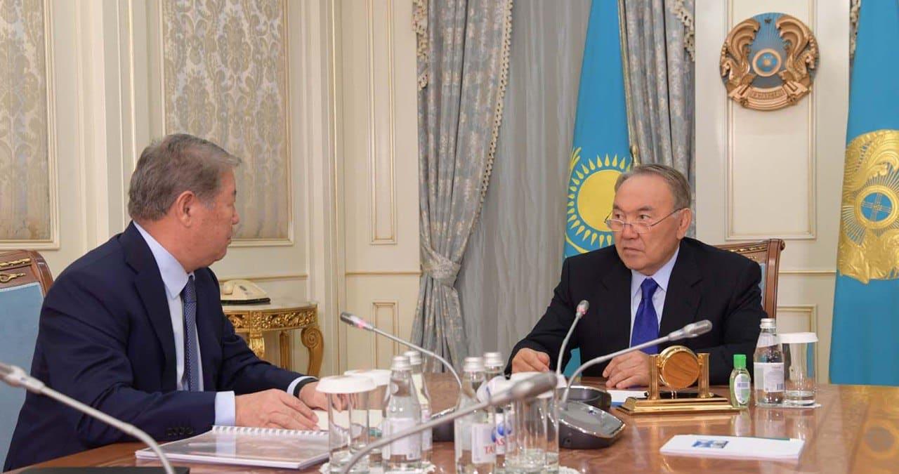 Ахметжан Есімов, Нұрсұлтан Назарбаев