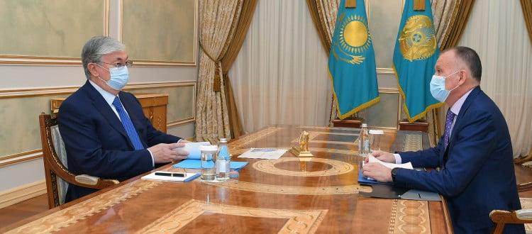 Қасым-Жомарт Тоқаев және Берік Имашев