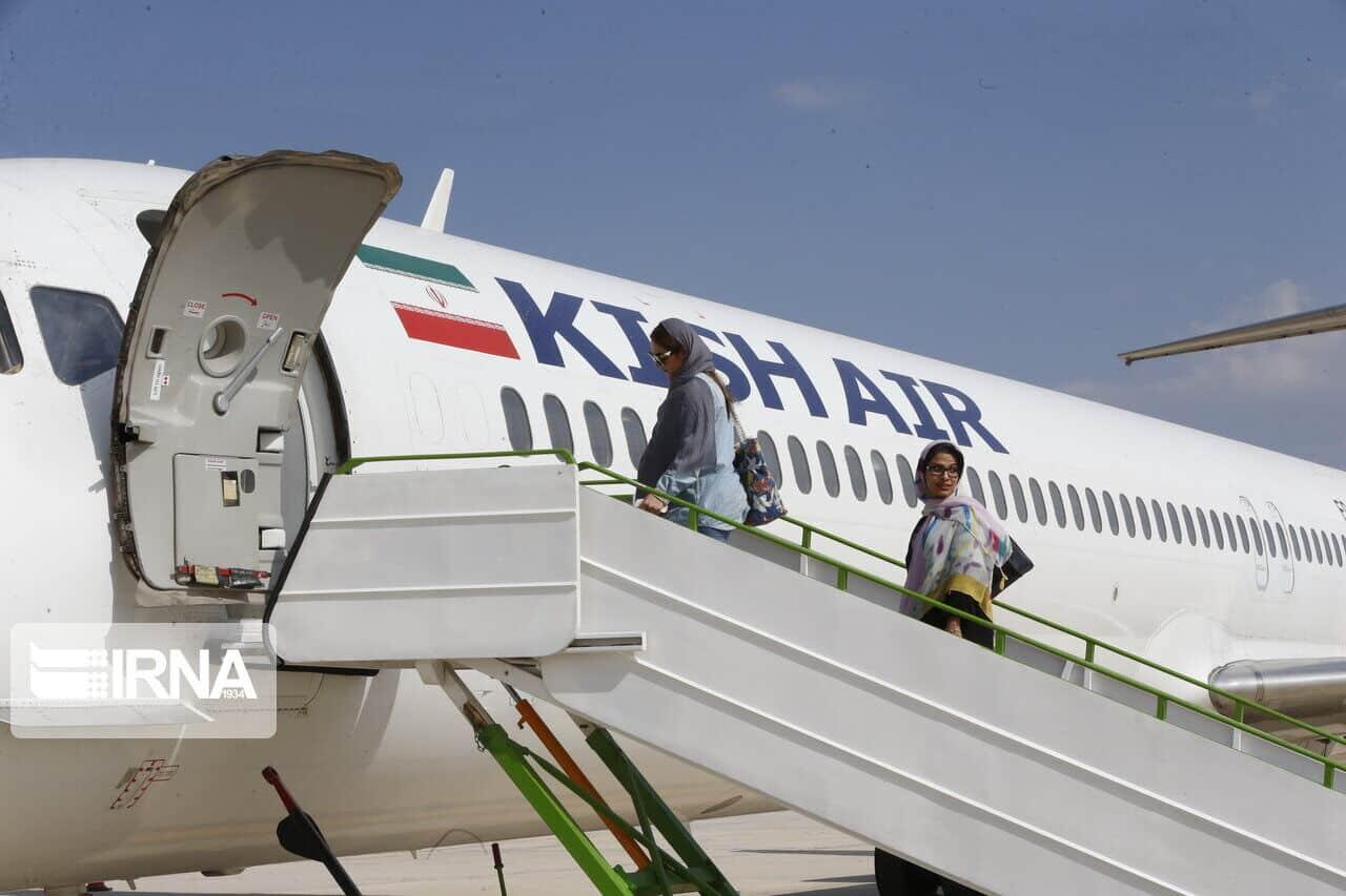 Иран, Горгон. Ақтау, әуе рейсі